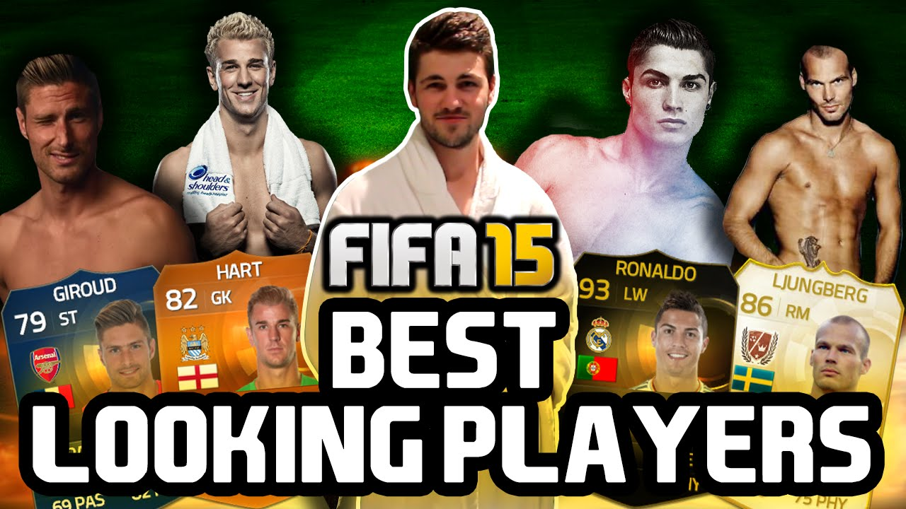 Fifa 15 the best looking players youtube