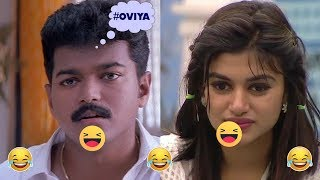 BiggBoss Season 1 -  Overview/Highlights  Part 2 | Oviya, Julie, Gayathiri, Raiza,  Ganja Karuppu