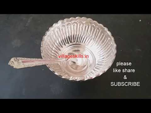 How to clean silver utensils(pooja samagri) easily at home l DIY silver items/ vessels cleaning tips