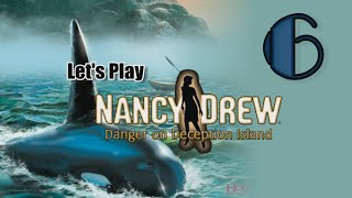 Nancy Drew 9: Danger on Deception Island [06] w/YourGibs - ASSEMBLE CADDY DINOSAUR PUZZLE