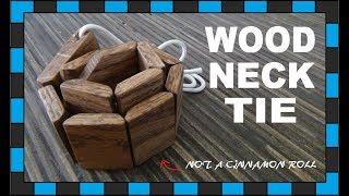 How To Build A Wooden Necktie!!!