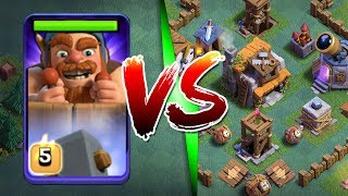 1 BATTLE MACHINE vs ENTIRE BUILDERS VILLAGE!! - WILL THIS WORK!? - Clash Of Clans