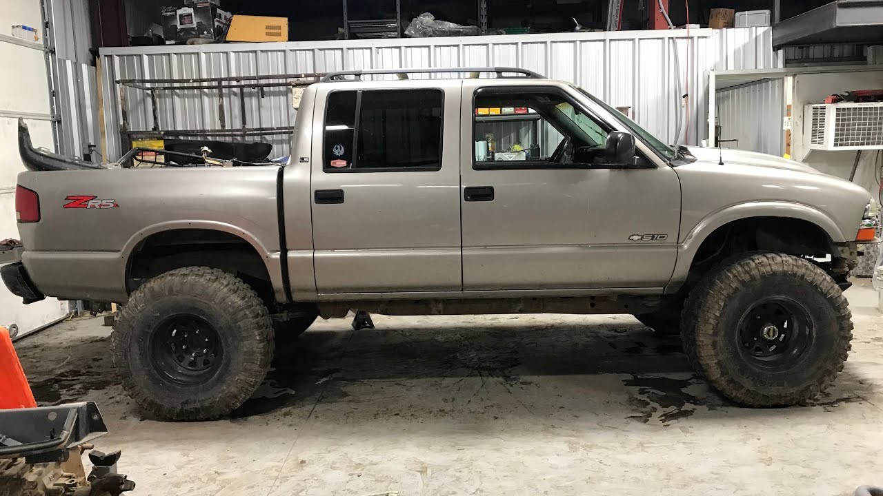 small resolution of 2003 crew cab s10 solid axle swap sas lift 4x4 4wd blazer jimmy sonoma