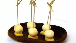 Маринованные перепелиные яйца (pickled eggs)