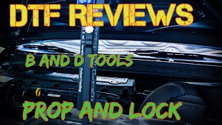 Prop and Lock | PDR tool review | Dent Tools Freak | B and D tools