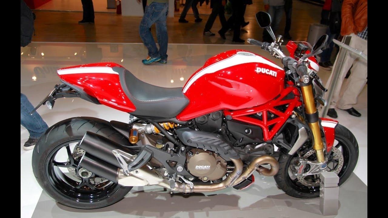 Ducati Monster 821 >> 2015 Ducati Monster 1200 S Stripe - EICMA 2014 - YouTube