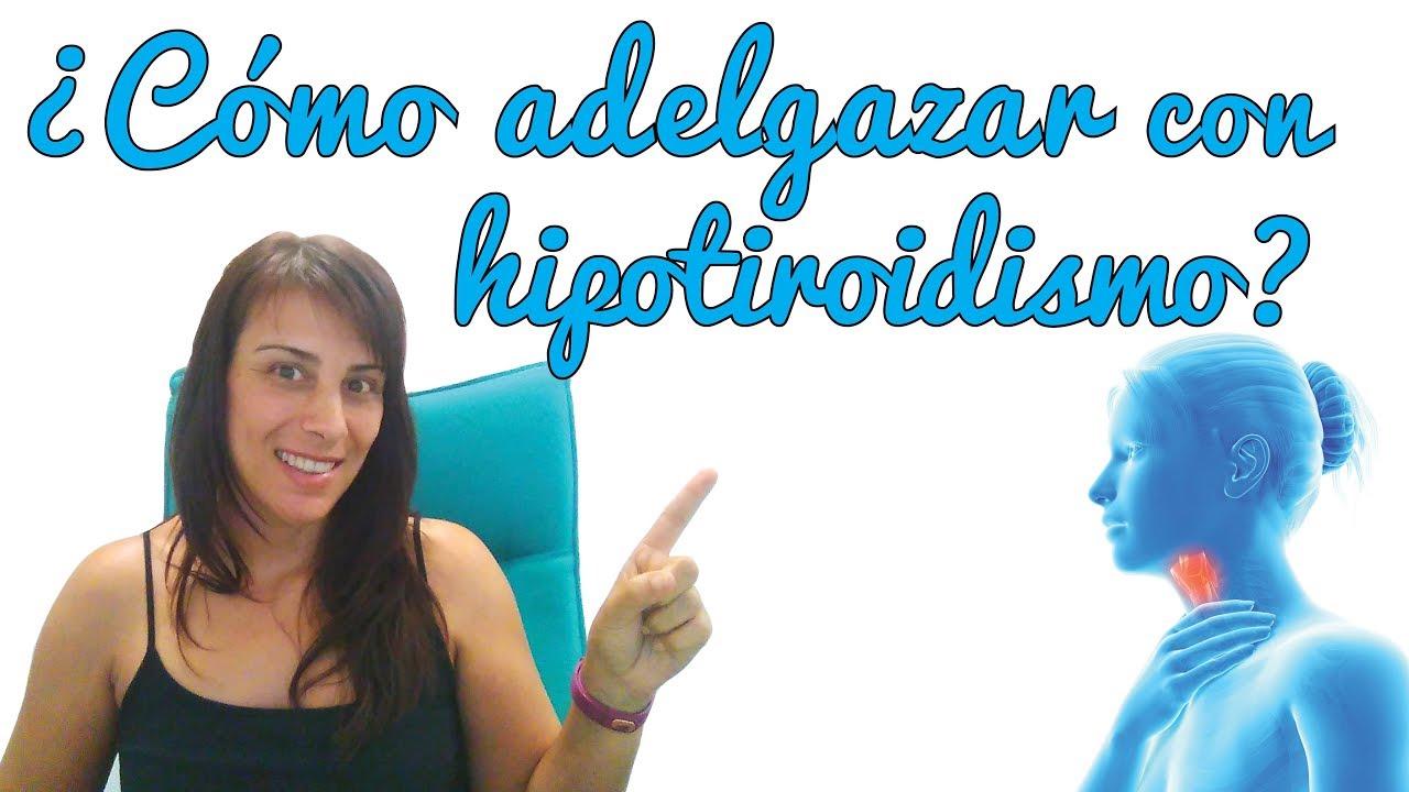 Las personas con hipotiroidismo pueden bajar de peso