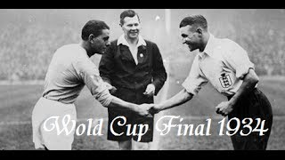 World Cup 1934 Final - Italy 2:1 Czechoslovakia