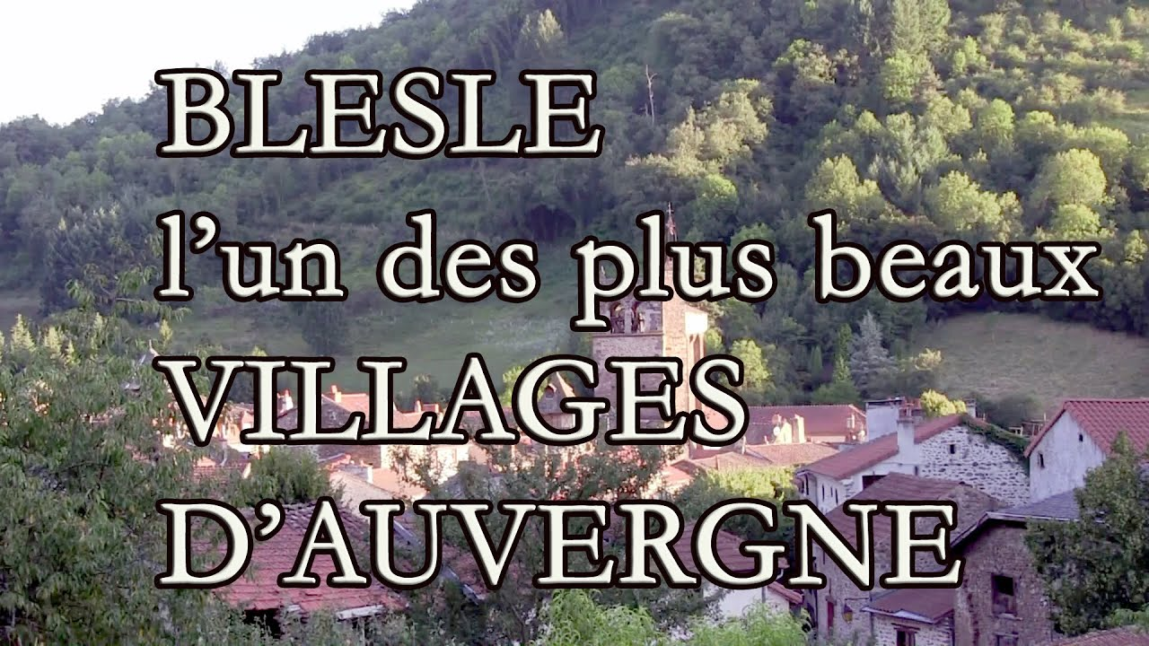 blesle en auvergne l 39 un des plus beaux villages de france youtube. Black Bedroom Furniture Sets. Home Design Ideas