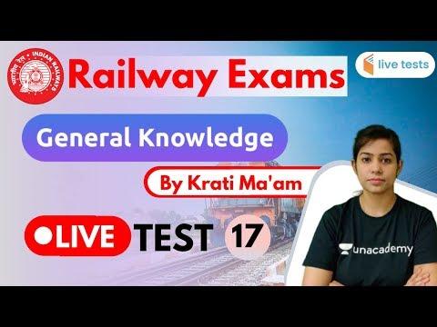 4:00-pm---railway-exams-2020-|-gk-by-krati-ma'am-|-live-test-17