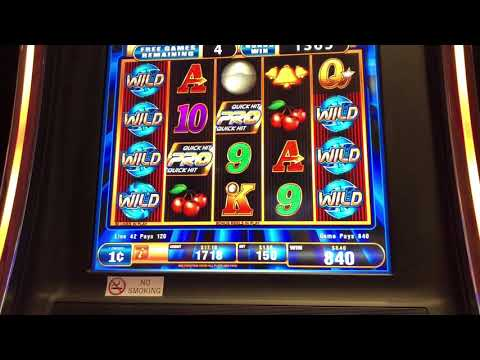 Quick Hit Pro BONUS GAME | Bally's Casino, Atlantic City. | March 2018