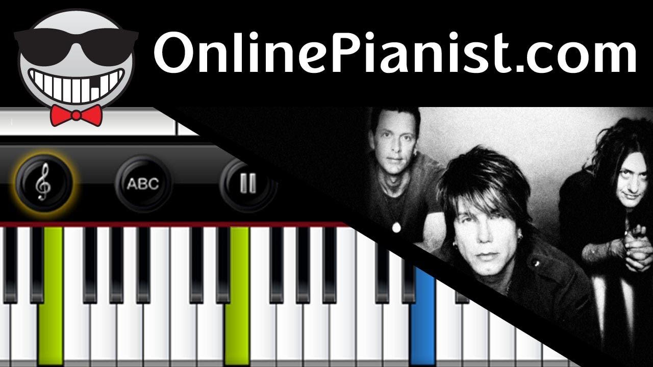 Goo goo dolls iris piano tutorial sheet youtube hexwebz Images