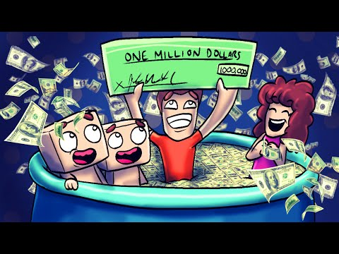 Minecraft   WHO'S YOUR DADDY! Baby is a MILLIONAIRE! (Dad Wins Lottery)