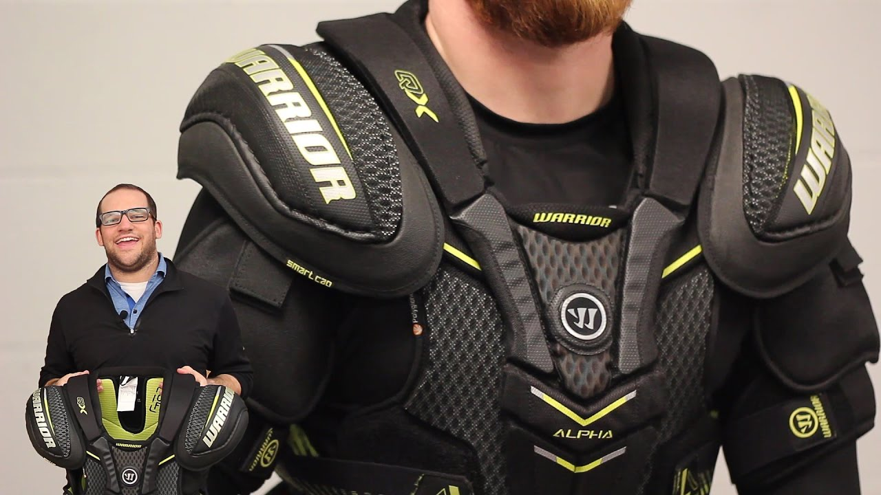 Warrior Alpha Qx Pro Senior Shin Protector