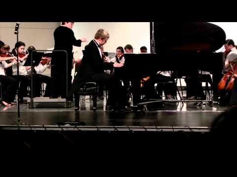 Nick Love Osseo Junior High School Grieg Piano Concerto in A Minor