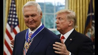GST AT THE OVAL OFFICE: President Trump Awards Medal of Freedom to NBA Star Jerry West