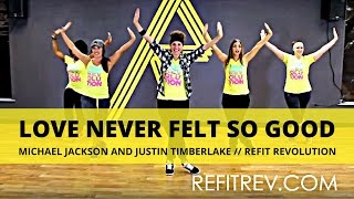 """Love Never Felt So Good"" 