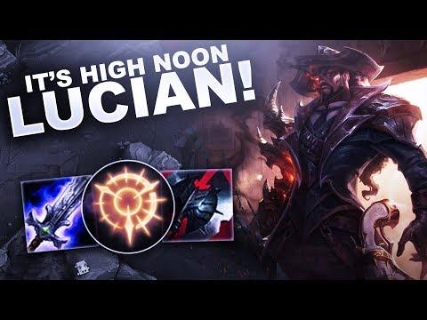 IT'S HIGH NOON... LUCIAN! | League of Legends