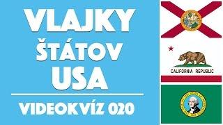 Vlajky štátov USA | Videokvíz 020