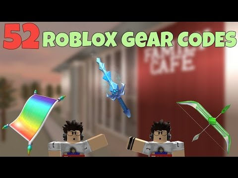 52 Roblox Gear Codes Youtube