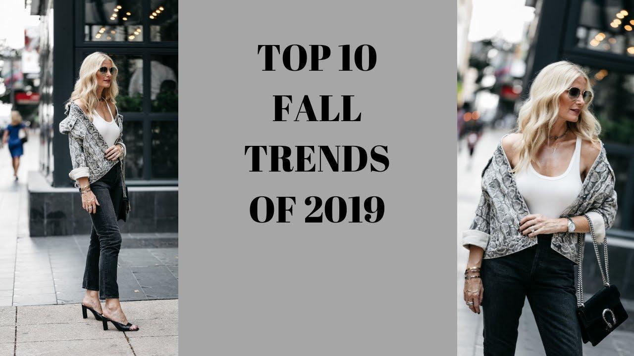 Fall 2019 Womens Fashion Trends