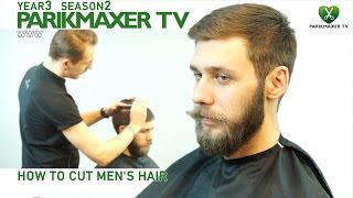 Как сделать мужскую стрижку How to cut men's hair parikmaxer.tv hairdresser tv peluquero tv