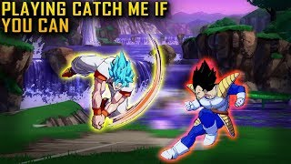 DAMN! I WANT THAT NEUTRAL GAME SON! Dragon ball Fighterz Online Ranked Match