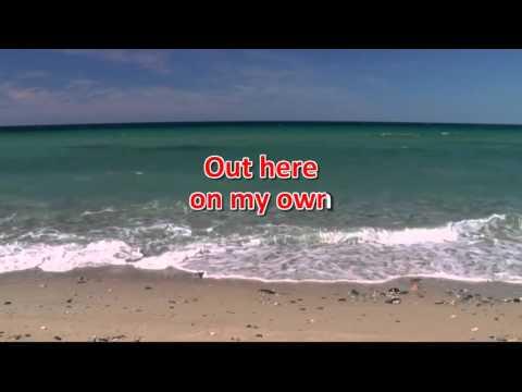 Out Here On My Own - Irene Cara (♪Karaoke-Videoke) [HD]