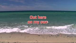 Out Here On My Own - Irene Cara (♪Karaoke-Videoke) [HD]
