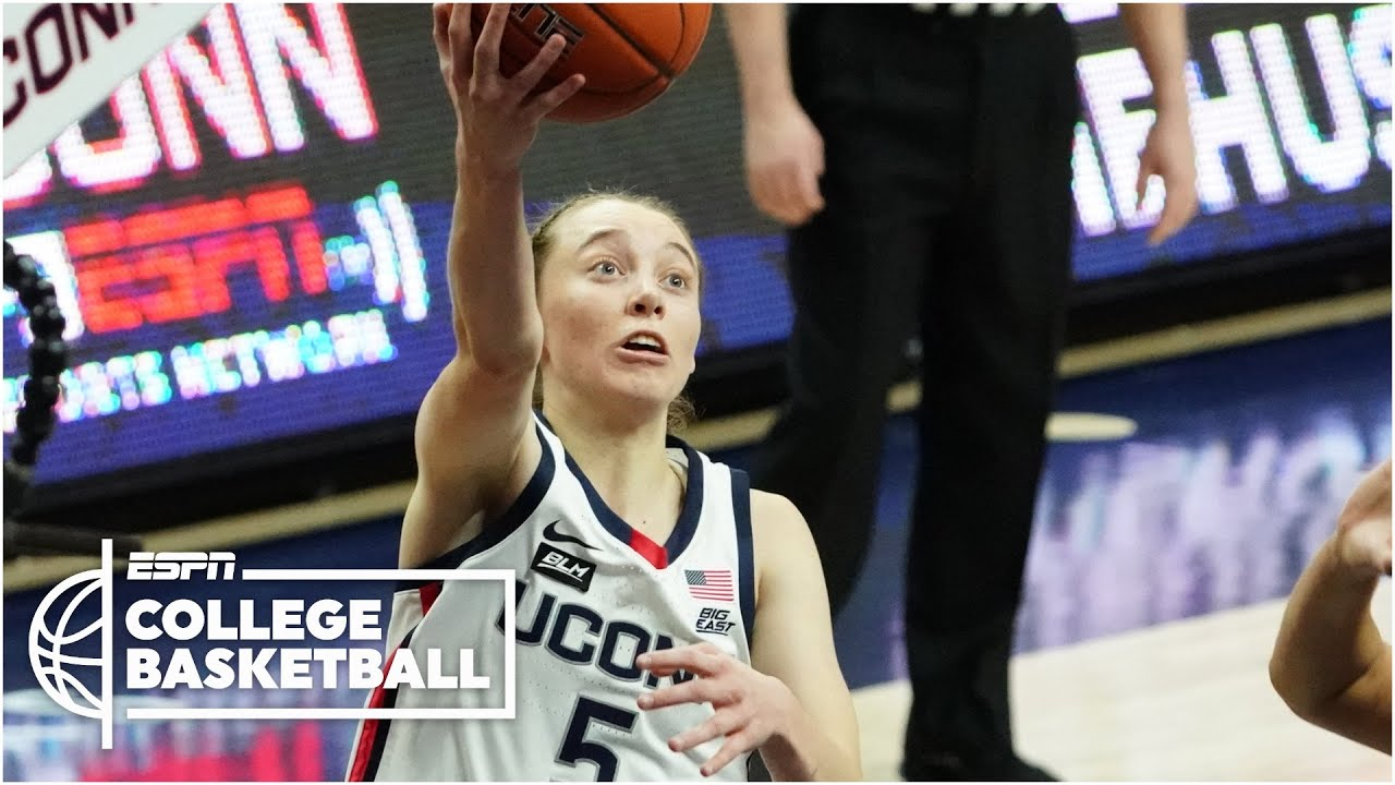 Reacting to UConn's Paige Bueckers 3-straight 30-point games   Countdown to College GameDay