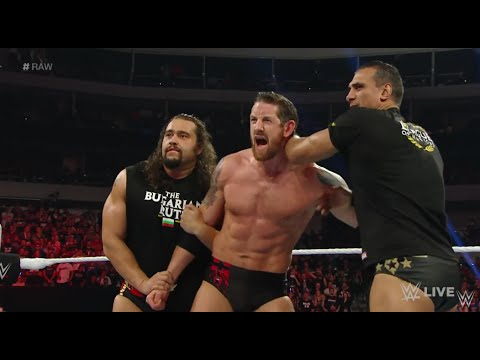 League of Nations kicks Barrett and are attacked by The Wyatts  - WWE Raw April 4 2016