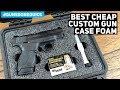 The Best Custom Gun Case Foam || Set Up Your Gun Case like a Pro