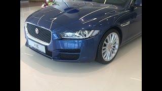 Реальный тест драйв Ягуар XE 2015- RTD Краткий обзор нового Jaguar XE