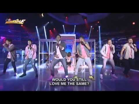 """Its Showtime-Hashtags perfomed """"Locked Away"""" and """"Cheerleader"""""""