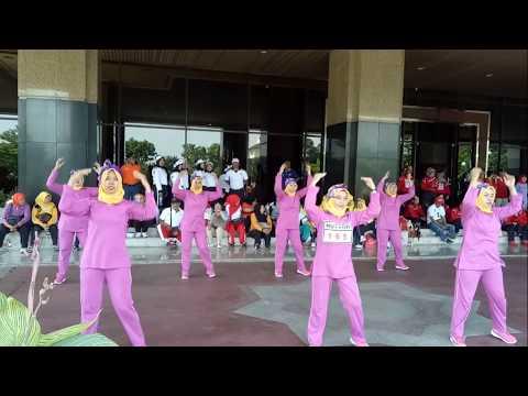 Lomba Senam PGRI 2017 se Jakarta Barat - Tamansari Juara 3