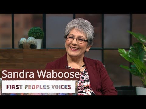 Sandra Waboose / FIRST PEOPLES VOICES