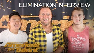 Elimination Interview: UDI Dance Talks About Being On AGT - America's Got Talent 2018