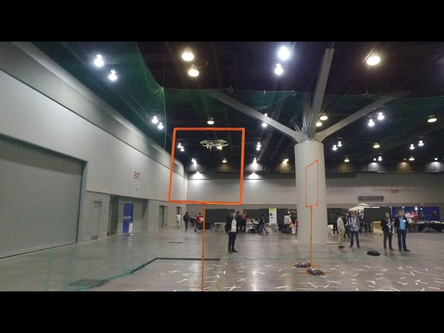 IROS 2017 Autonomous Drone Race: Vision-based Navigation Running fully Onboard