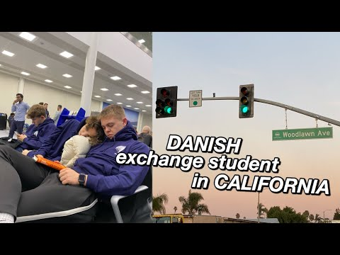 First School Day: Exchange Student in California
