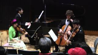 Piano Quartet in A minor ..... Gustav Mahler