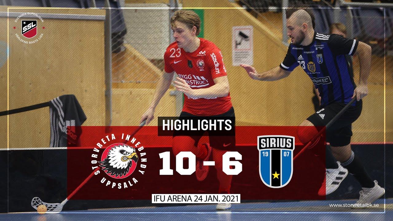 Download Highlights Storvreta IBK vs IK Sirius IBK 10-6