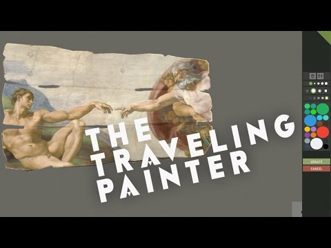 The Traveling Painter Of Rust