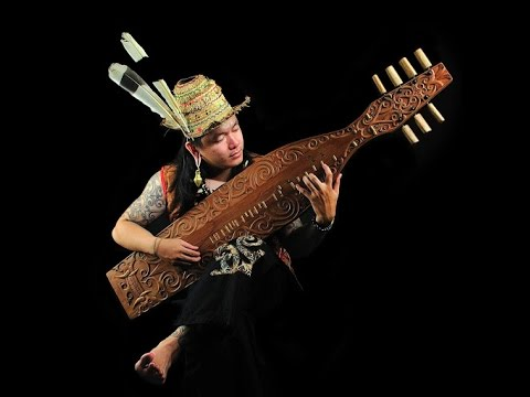 sape musical instrument Dayak touched the hearts 2016