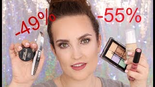 Promocja ROSSMANN -49% -55% na makijaż - co kupić? Deborah, Rimmel, AA, Wibo, Lovely itd