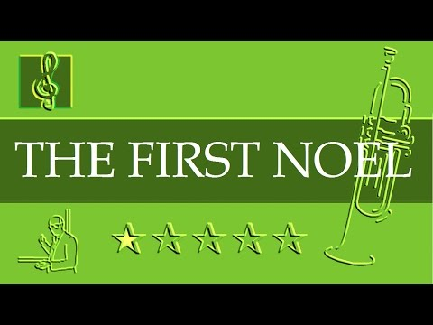 Trumpet Notes Tutorial - Christmas Song - The First Noel (Sheet music)