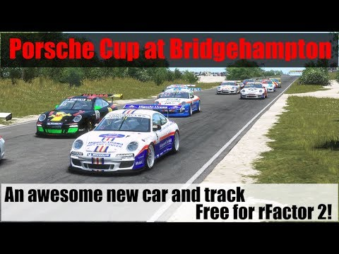 rFactor 2 New Awesome Free Mod Car and Free Track Flat6 at