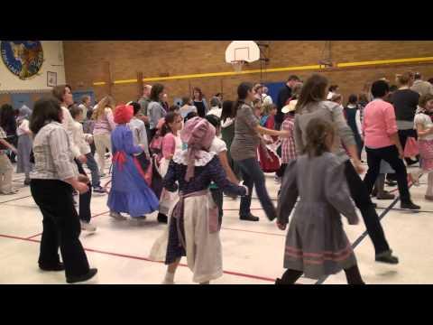 Terra Linda School 2011 Pioneer Day - Dance 5 (with parents)