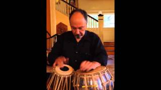 Anthony Baray - Playing a Rela in Rupak Tal (7 beats)
