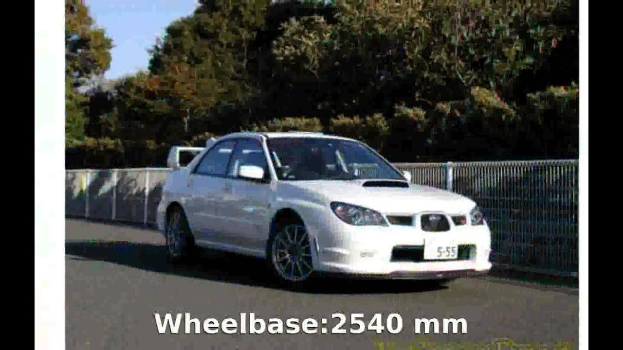 Subaru subaru specs : 2005 Subaru Impreza WRX STI spec C Type RA 2005 Specs - YouTube