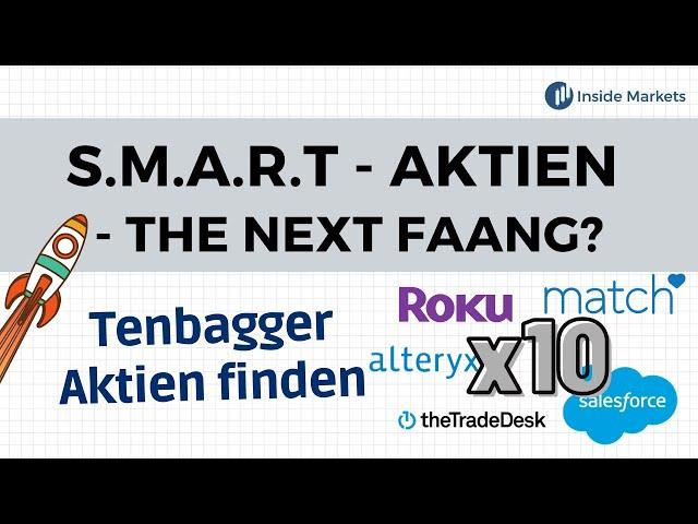 Das sind die Tenbagger Aktien der nächsten Generation | Die S.M.A.R.T Aktien